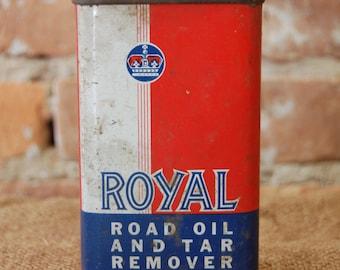 Royal Road Oil and Tar Remover Tin