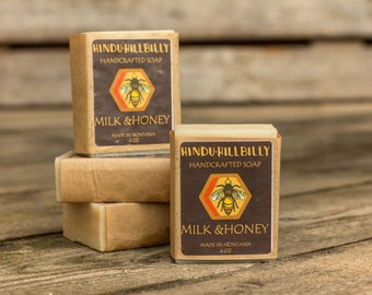 Milk & Honey Soap