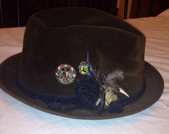 Brown Churchill fedora