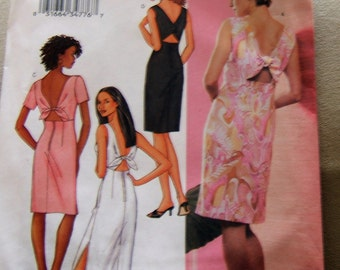 SALE    Butterick 3447 uncut Size 14, 16 and 18 womens dress