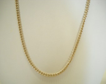 "Vintage 24"" Gold Tone Chain (9879) Germany"