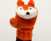 PATTERN NOTES ONLY - Fox Mittens