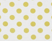"Glitz Metallic Quarter Dot Fabric Remnant by Michael Miller 12"" x 72"""