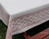 """SALE!!! 100% LINEN Flax TABLECLOTH European Linen - 60""""x80"""" (150x200 cm) - Sale"""
