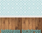 Modern-Flourish - Grunge-Wood All in One - Vinyl Photography  Backdrop Photo Prop
