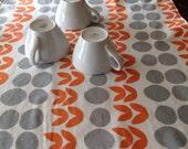 Dish Draining Mat  Modern Lotta Jansdotter Print