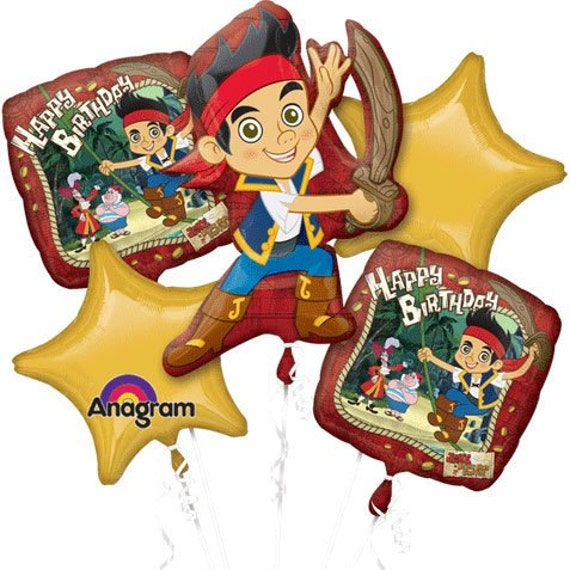 Jake and the Neverland Pirates Birthday Bouquet