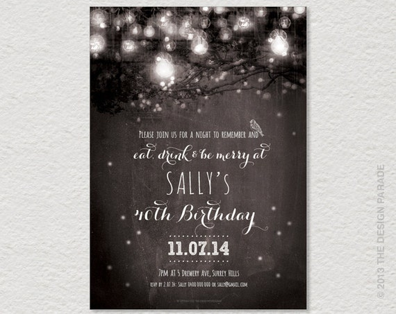 30Th Birthday Invites as amazing invitations template