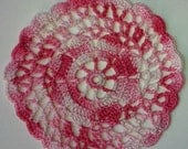 Angelica Set-2 Multi Pink coaster small doily- Clearance priced