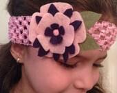 Flower beauty woven band