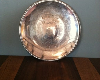 Very Large Vintage Silver Plated Tray