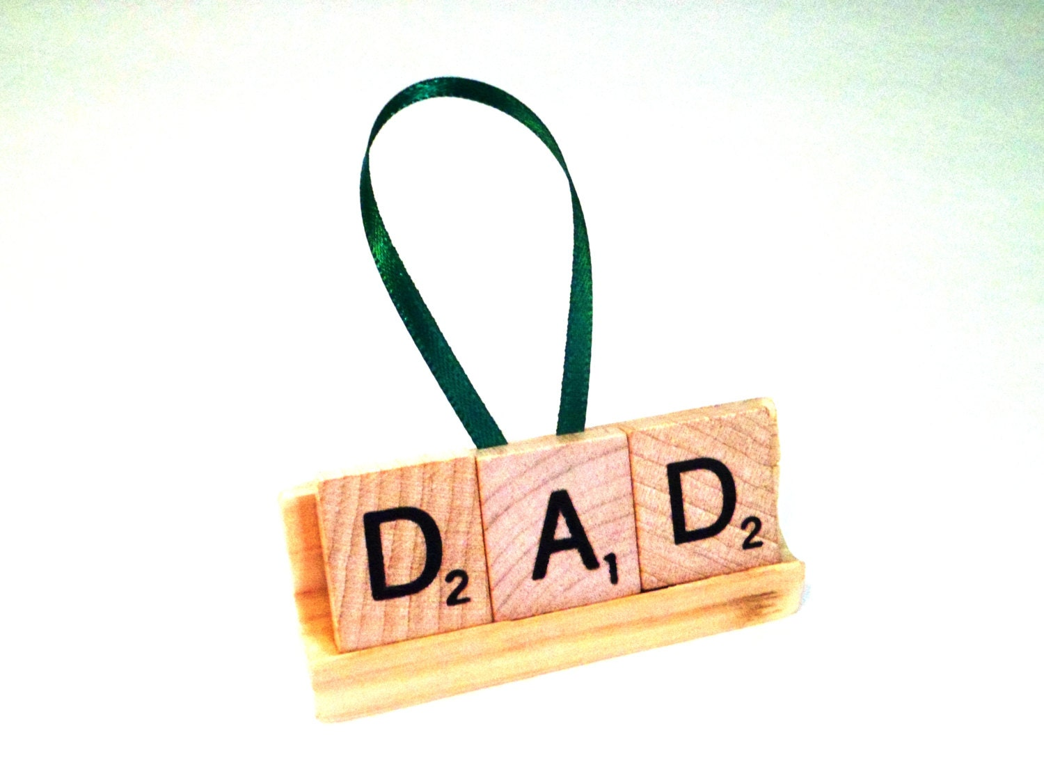 Dad christmas ornament - Personalized Xmas Gift Dad Ornament Scrabble Tile Gift New Dad Gift Baby