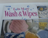Wash & Wipes Crochet Dishcloths Pattern Booklet