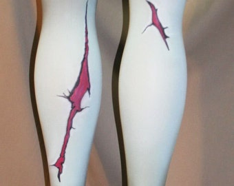 cartoon zombie tights or thigh highs custom made for you