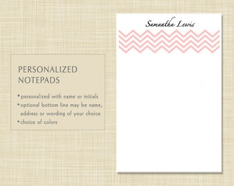 Personalized Notepad - Chevron