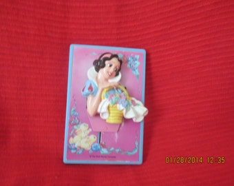 SNOW WHITE LIGHT Switch Cover 1980s