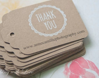 Thank You For your Purchase-Business Stationery-Photography Branding-Photography Business Cards-Photography Marketing-Set of 40