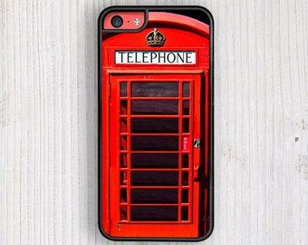 British Phone Booth iPhone Case, iPhone 5/5S Cases, Iphone 6 Case , Iphone 4/4S Cases, iphone 5c case
