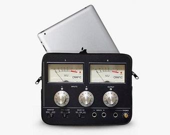 Retro Amplifier Neoprene iPad Sleeve