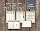 Bridal Shower Games//Instant Download//Set of 5//Alice in Wonderland//Bingo*Scattergories*Celebrity Matching*Movie quotes*Know the bride