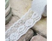 Adhesive deco white cotton lace roll tape - 30 by J&Bobbin (Fallindesign)