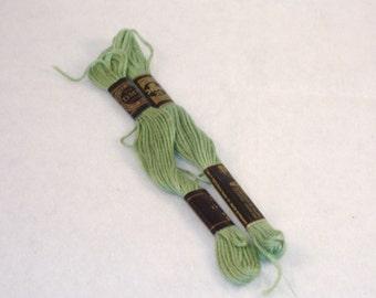 DMC 989 - Forest Green Embroidery Floss - 2 Skeins - Brand New - Destash