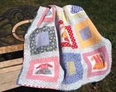 Dainty Dresses Handmade Patchwork Quilt
