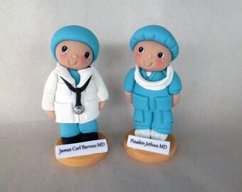 Beeka-poo Doctor figurine or Cake Topper