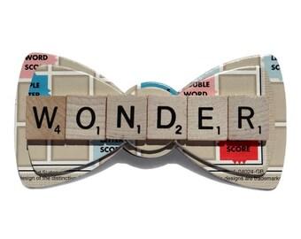Custom Scrabble Word Bow Tie
