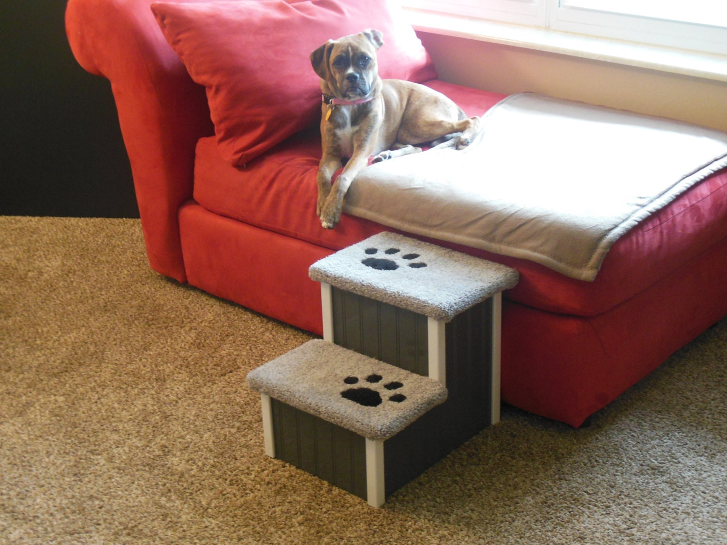 Steps For High Beds Part - 43: Hampton Bay Pet Steps