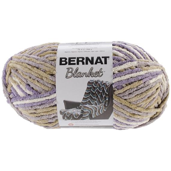 Bernat Big Blanket Yarn Lilac Bush Large By