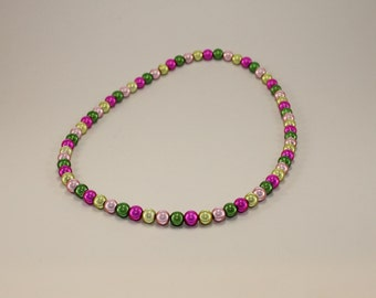Spring Blooms Beaded Necklace