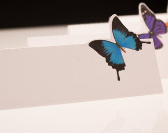 Butterfly Place Cards / Escort Tags - Perfect for Weddings or  Special Occasions
