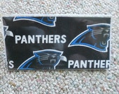 NFL Checkbook Covers! Panthers, Patriots, Raiders, Rams, Ravens! Football!