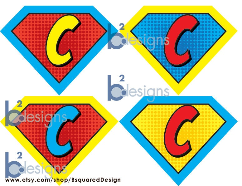 Justice League Printable Symbols Superhero symbols (printables)