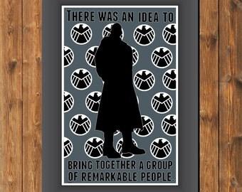 Avengers Nick Fury Fan Poster
