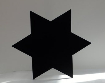 Star Shaped Blackboard / Chalkboard