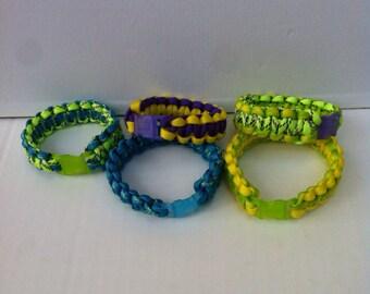 Neon Paracord Bracelets