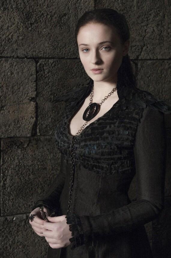 Sansa Stark Dress Pattern Sansa Stark Black Crow Dress