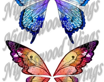 Instant Download OOAK Fairy Pixie Bear Fantasy Wing sheet 05