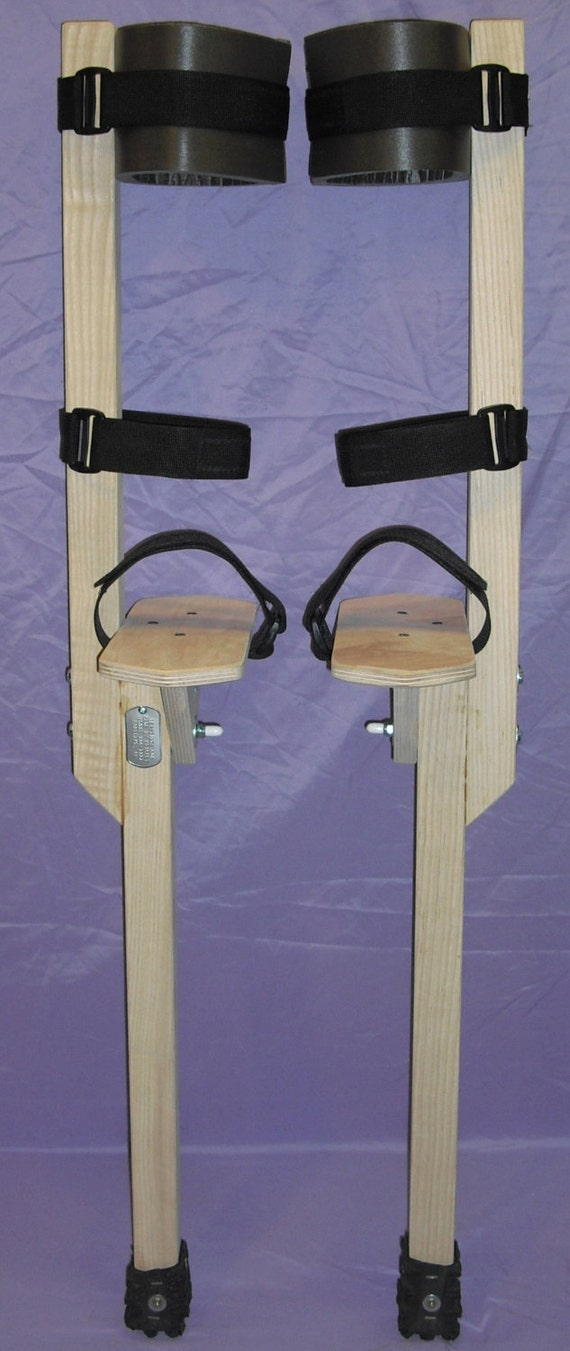how to build your own jumping stilts