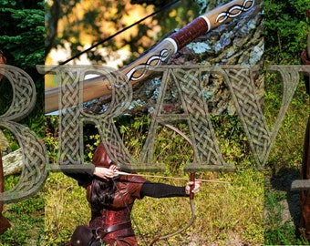 Merida's Bow Brave Inspired