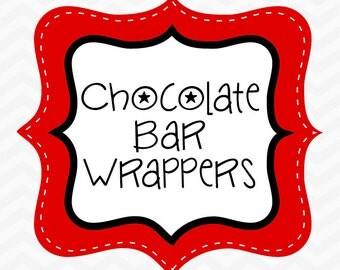 Made to Match Chocolate Bar Wrappers