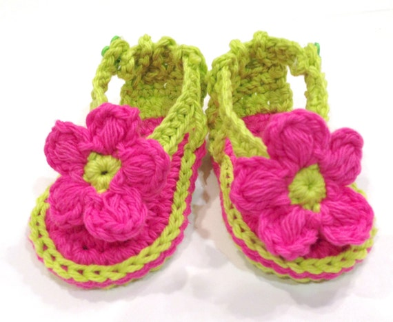 Crochet Pattern, Baby Booties Shoes Sandals for Baby, PDF 12-020 INSTANT DOWNLOAD