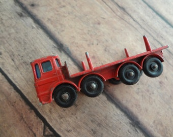 Lesney Leyland Truck Pipe Truck Car Matchbox Series # 10 England Toy Car Collector Collection Ladder
