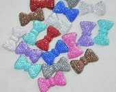100 mini bottle cap bows