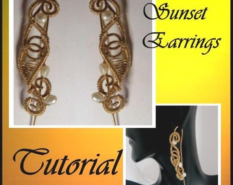 Step-by Step-Tutorial Sunset Earrings
