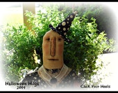 Primitive Halloween Witch Pattern Hilga Click Your Heels