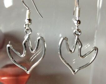 Earrings bird profile my Sweety collection for pierced ears