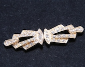 Gold clasp, Rhinestone closure, Wedding clasp, Crystal appliqué, Sweater clasp, Sweater button, Coat button, Coat clasp